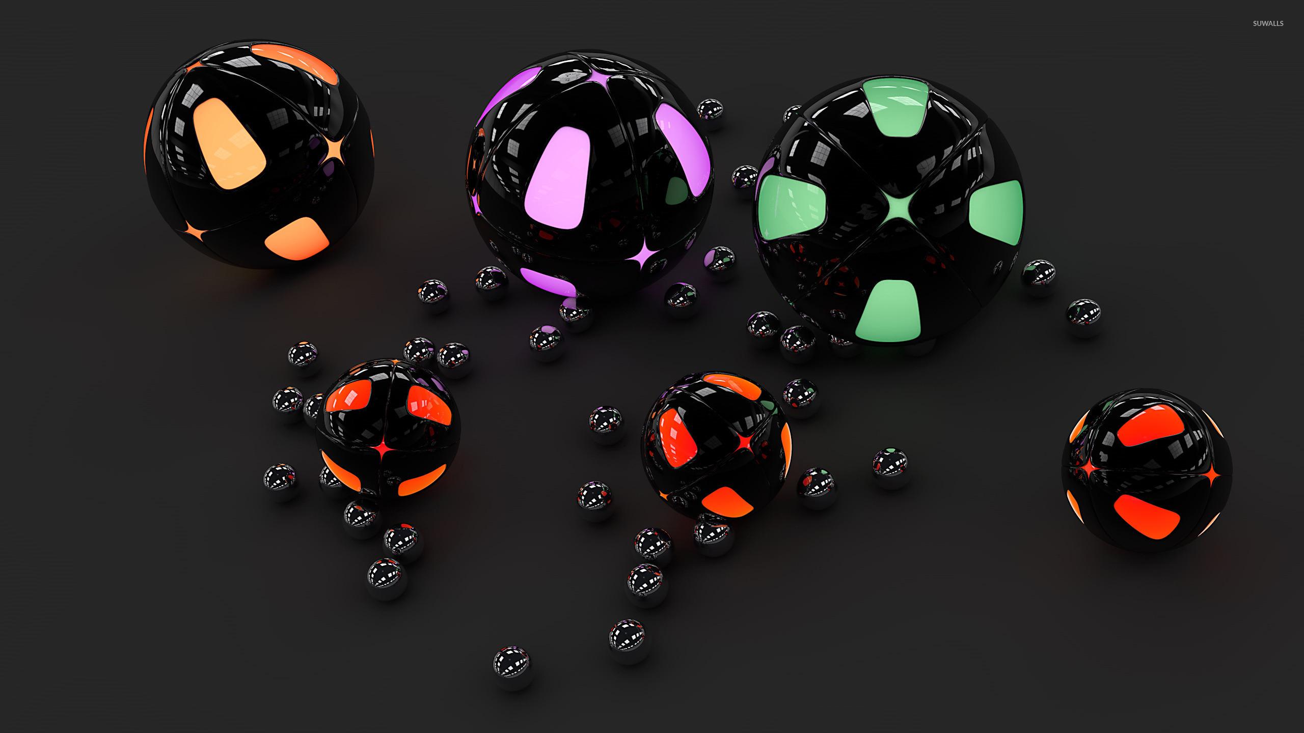 Неоновый шар  № 2880237 без смс