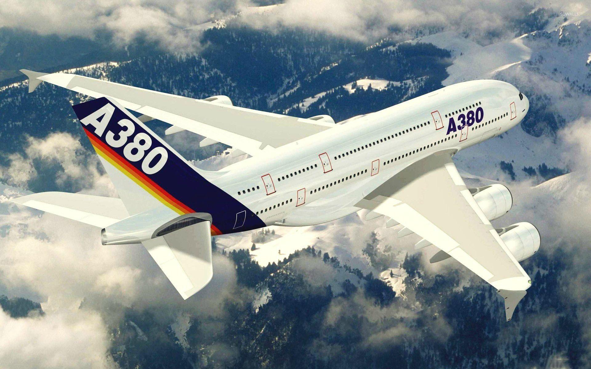 Аэробус А380  № 2361616 бесплатно