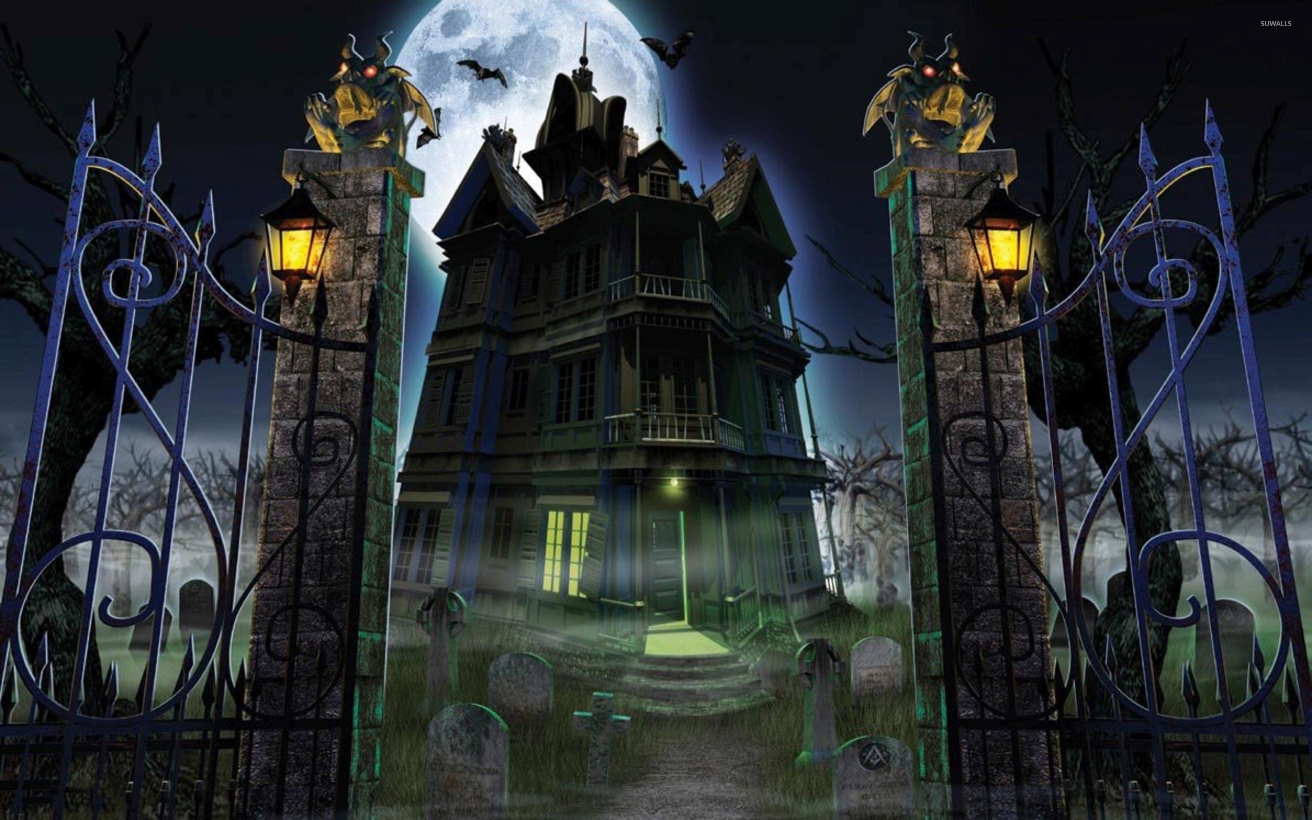 Haunted house  № 587548  скачать