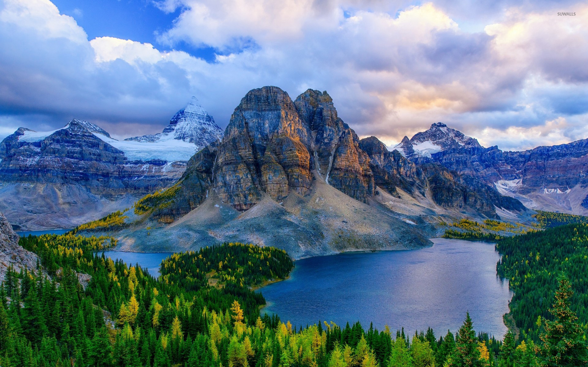 канада пейзаж обои на рабочий стол № 567379  скачать