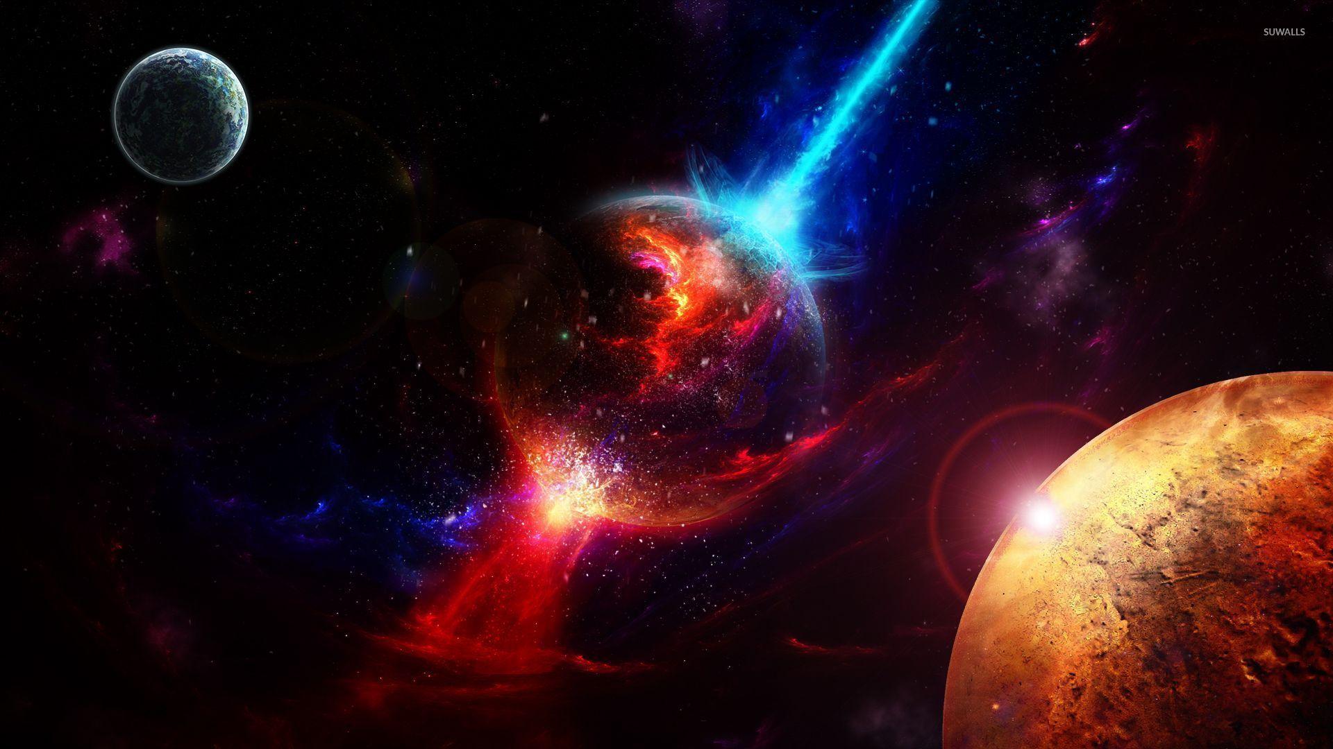 Обои космос вселенная планета картинки на рабочий стол на тему Космос - скачать  № 1955768 бесплатно