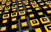 Black and yellow buttons wallpaper 1920x1200 jpg