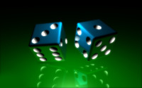 Blue dice wallpaper 1920x1200 jpg