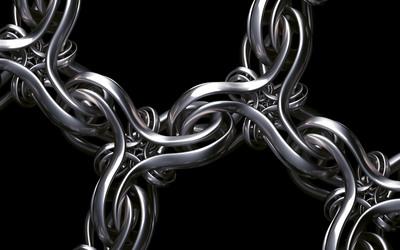 Chain wallpaper
