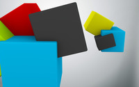 Colorful cubes [2] wallpaper 2560x1440 jpg