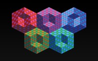 Colorful cubes [4] wallpaper 2560x1600 jpg