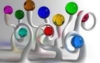 Colorful glass balls wallpaper 1920x1200 jpg