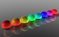 Colorful spheres wallpaper 2560x1600 jpg