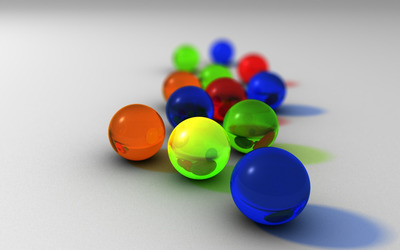 Colorful spheres [4] wallpaper