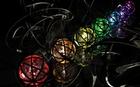 Colorful spheres [3] wallpaper 2560x1600 jpg