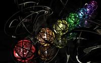 Colorful spheres [3] wallpaper 2560x1600 jpg