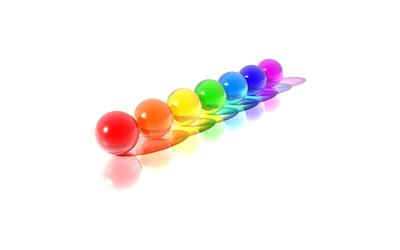 Colorful spheres [6] wallpaper
