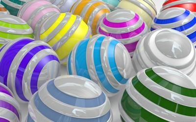 Colorful spheres [2] wallpaper