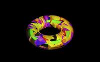 Colorful torus wallpaper 1920x1200 jpg