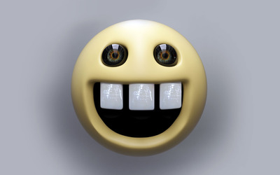 Creepy smile wallpaper