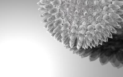 Crystal sphere wallpaper