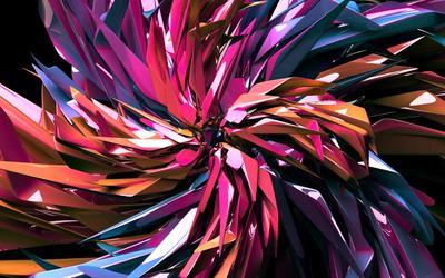 Crystal swirl Wallpaper