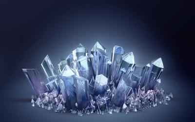 Crystals [2] wallpaper