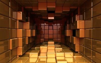 Cube chamber [2] wallpaper