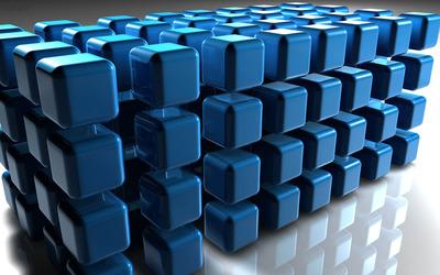 Cubes [15] wallpaper
