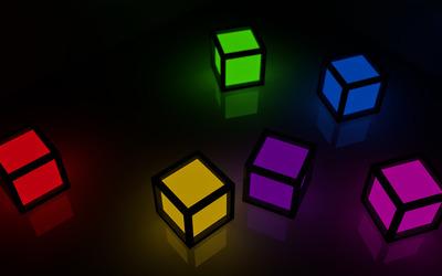 Cubes [22] wallpaper