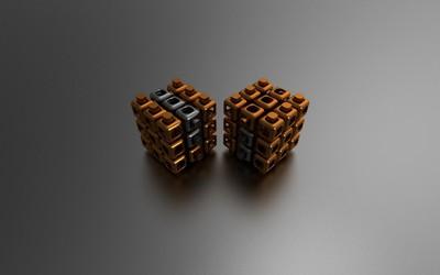 Cubes [26] wallpaper