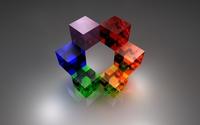 Cubes [5] wallpaper 1920x1200 jpg