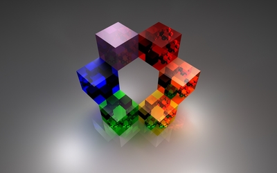 Cubes [5] wallpaper