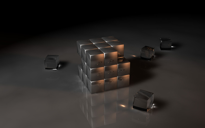 Cubes [13] wallpaper