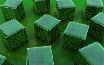 Cubes [24] wallpaper