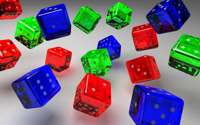 Dice [5] wallpaper