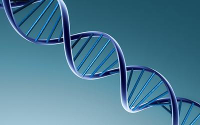 DNA strand wallpaper