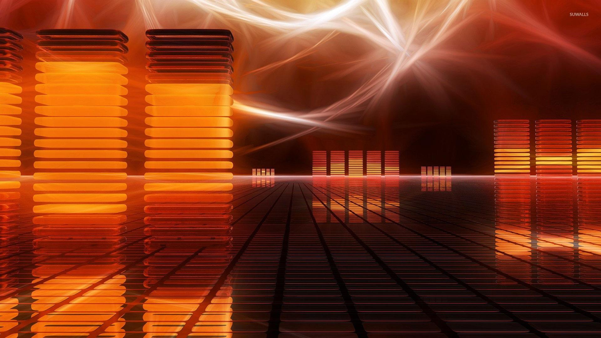 Equalizer bars wallpaper - 3D wallpapers - #24222