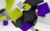 Floating cubes [2] wallpaper 2560x1600 jpg