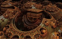 Fractal rusty design wallpaper 1920x1080 jpg