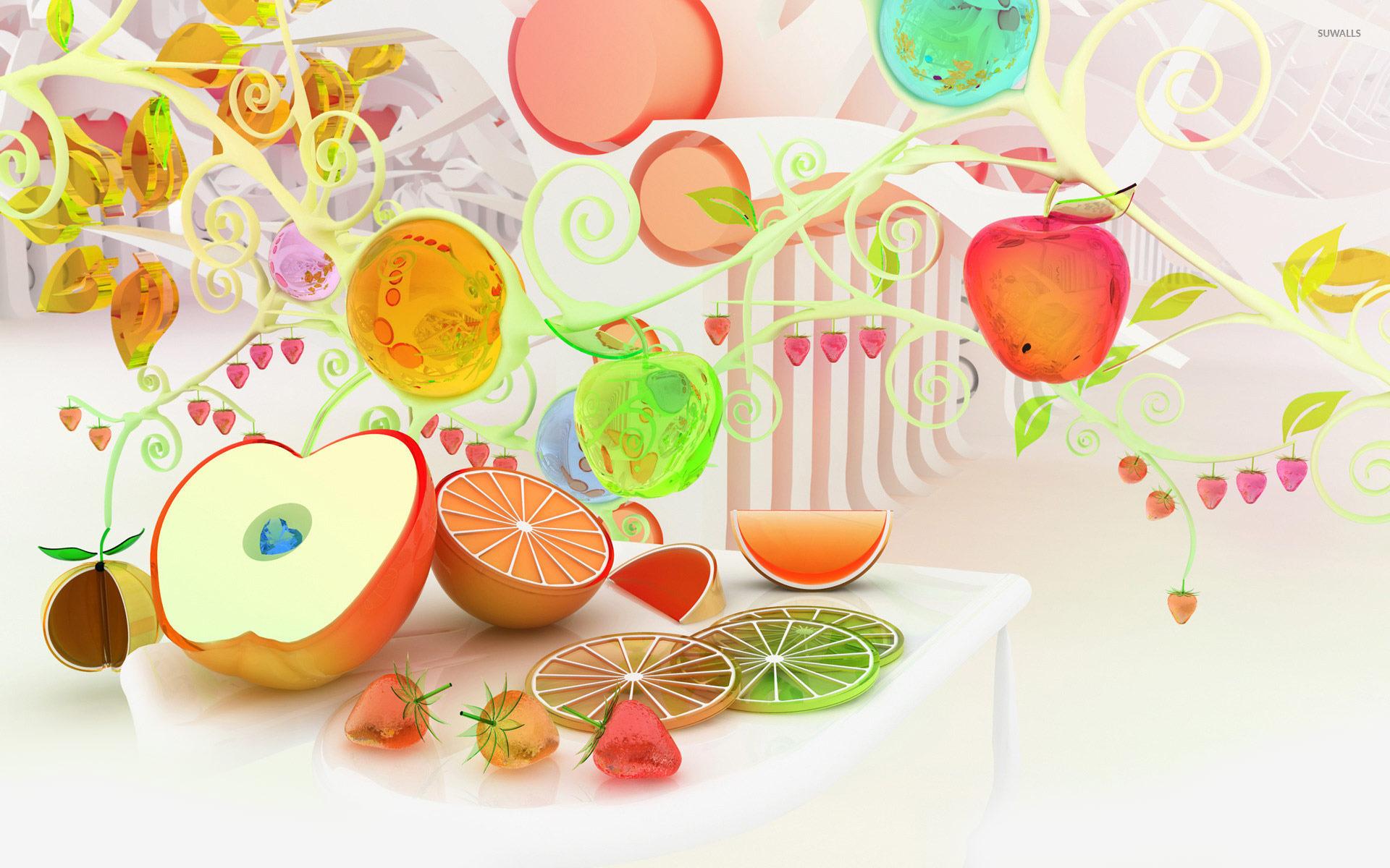 Fruit [4] Wallpaper 3D Wallpapers