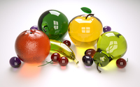 Glass fruit wallpaper 1920x1200 jpg