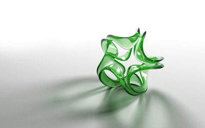 Glass Knot wallpaper