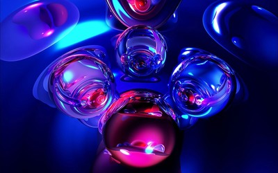 Glass marbles [2] wallpaper