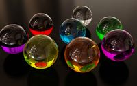 Glass marbles wallpaper 2560x1600 jpg