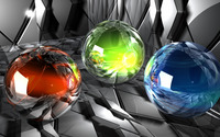 Glass orbs wallpaper 1920x1080 jpg