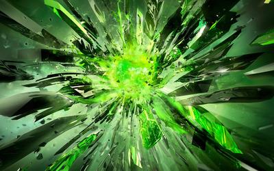 Glass particles wallpaper