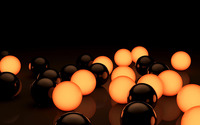 Glowing spheres [2] wallpaper 2560x1440 jpg