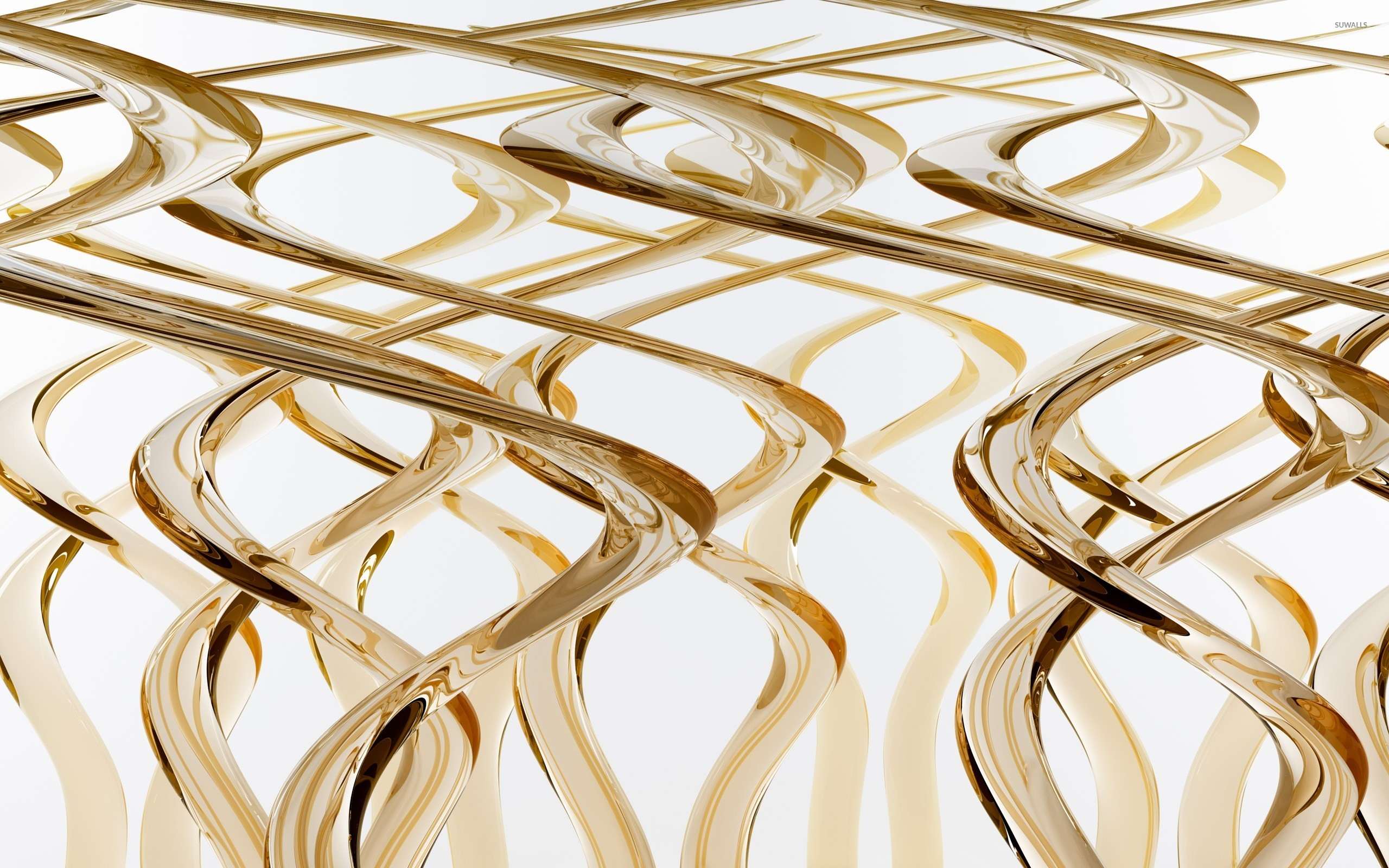 Gold strands wallpaper 3d wallpapers 11144 for Gold 3d wallpaper