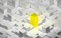 Golden cube wallpaper 1920x1200 jpg