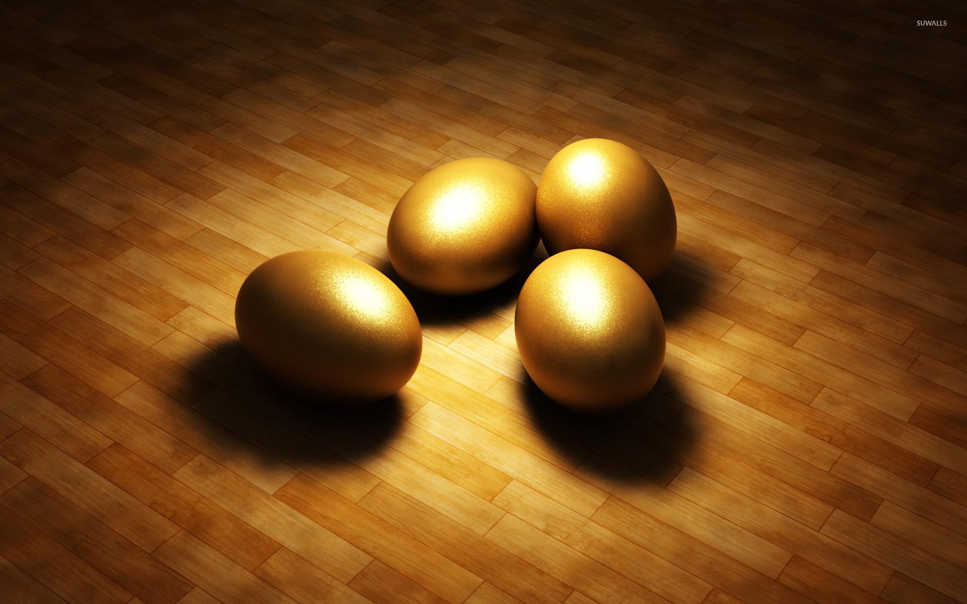 Golden Eggs Wallpaper 3d Wallpapers 22586