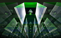 Green blocks wallpaper 1920x1200 jpg