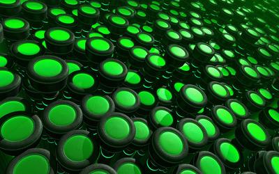 Green buttons wallpaper