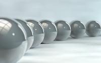 Grey spheres [2] wallpaper 1920x1080 jpg
