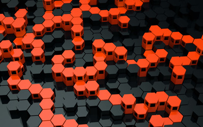 Hexagons [3] wallpaper